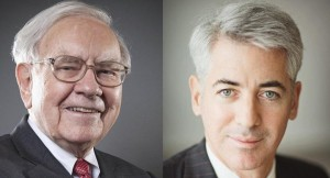 Warren Buffett Bill Ackman