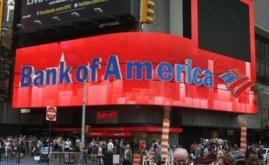 Bank of America Greencard